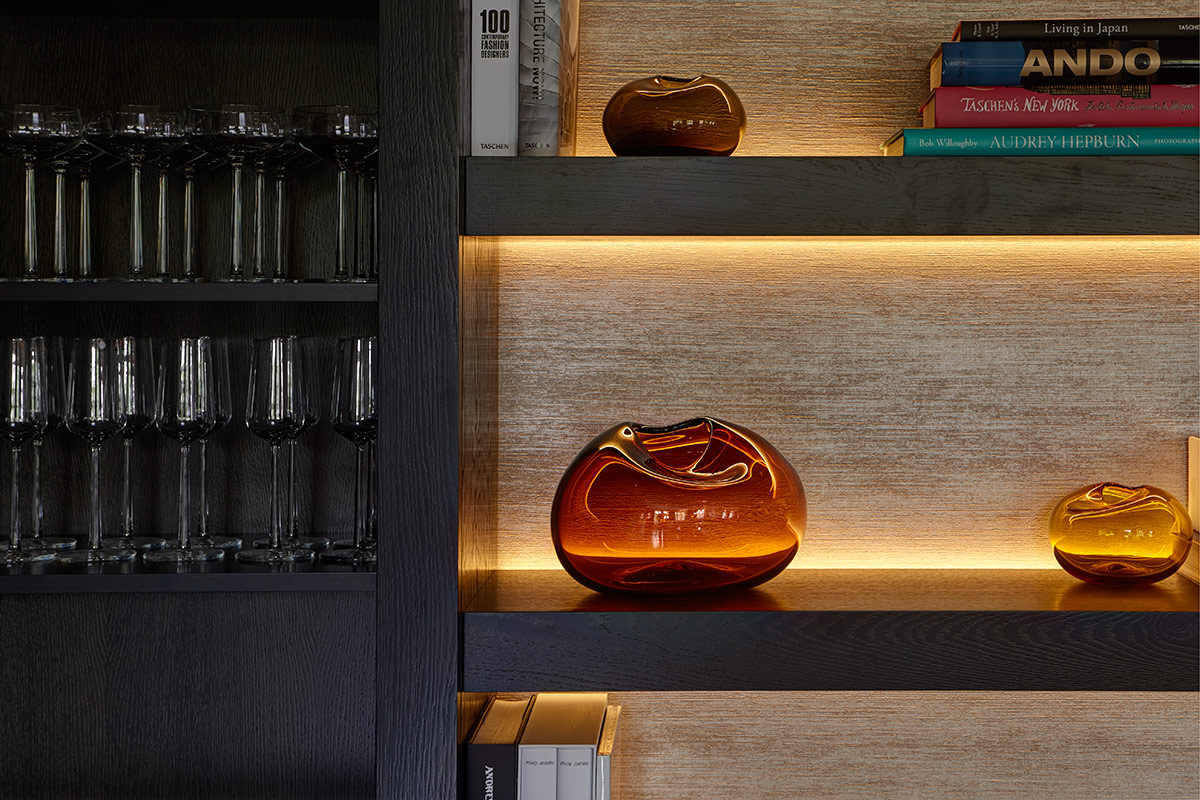 LED shelf lighting